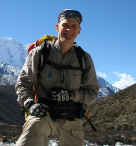 Alan Enroute to Mount Everest Base Camp